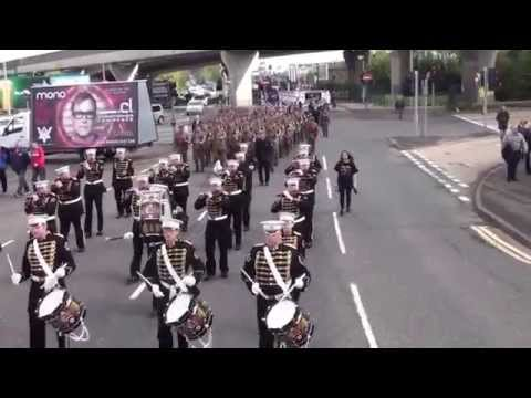 36TH Ulster Division Review Centenary Parade (P1) 2015