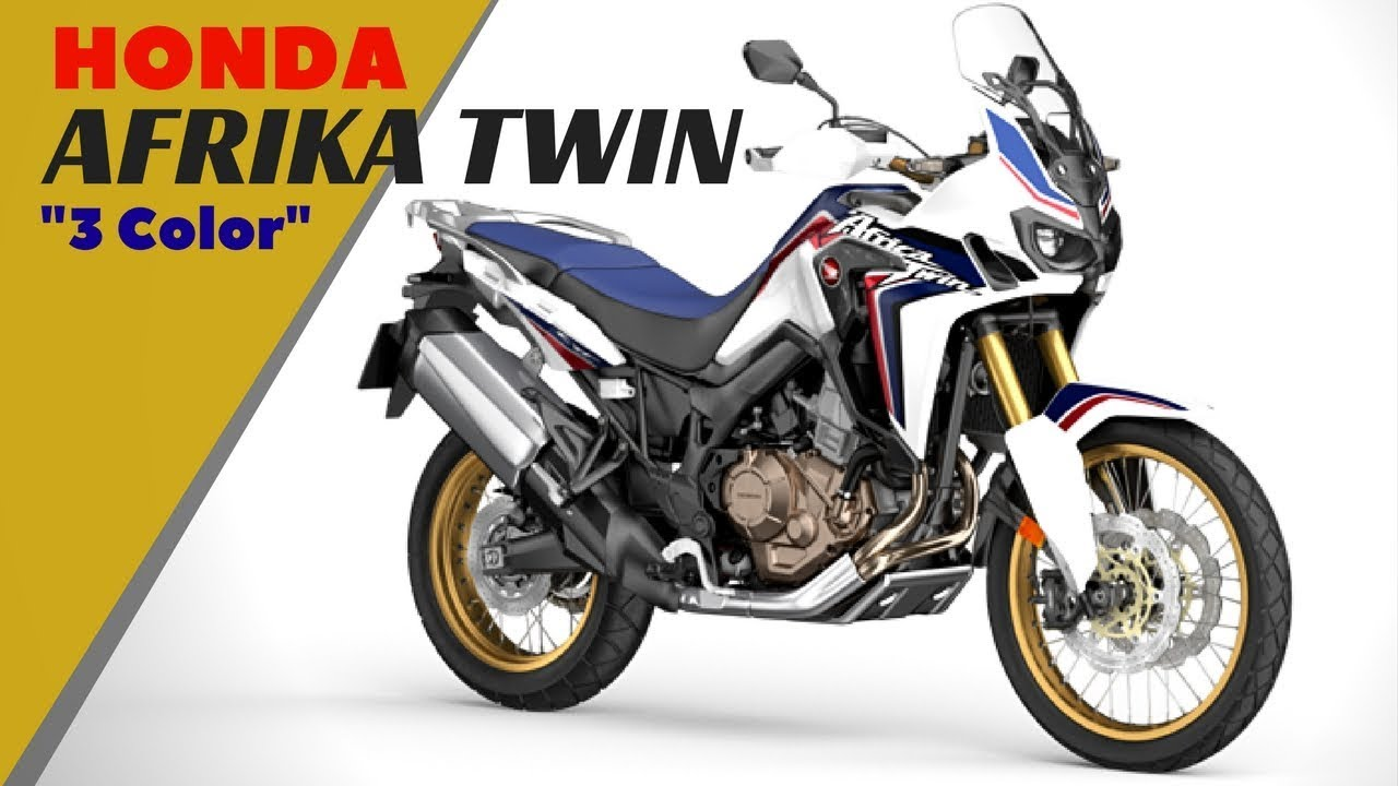 extraordinary 2018 honda africa twin with three color. Black Bedroom Furniture Sets. Home Design Ideas