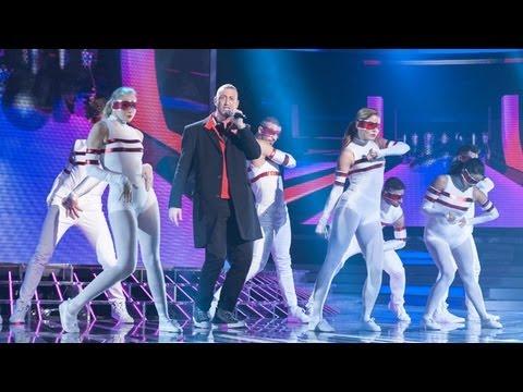 Christopher Maloney Sings Elton John's I'm Still Standing - Live Week 6 - The X Factor UK 2012