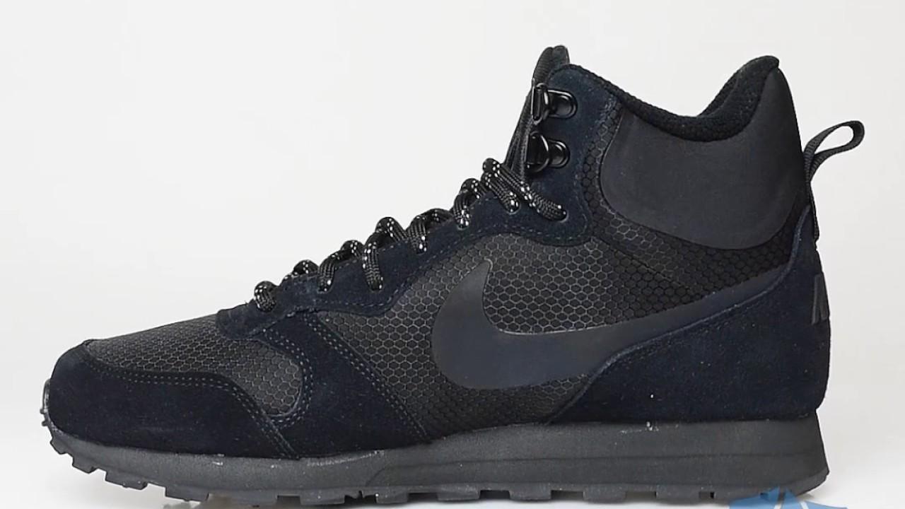cc3e705ee8304 Nike Md Runner 2 Mid Premium Men - Sportizmo - YouTube