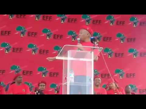 EFF delivers human rights message at the Mpumalanga Stadium in Wesselton