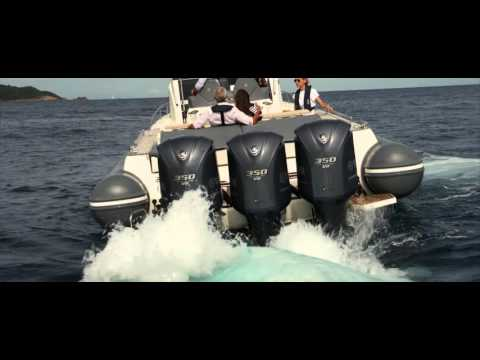 Yamaha made for Water: F350 Outboard engine in action