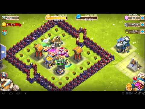 Castle Clash - How To Guide - Town Hall 12 - Wave C - 2800 Might