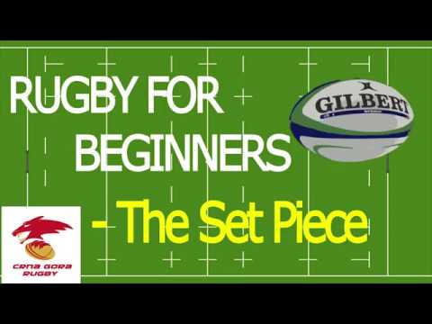Rugby For Beginners – The Set Piece