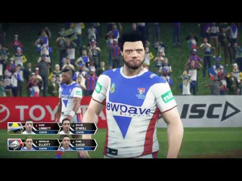 Rugby League Live 3 (PS4) | Cowboys v Knights