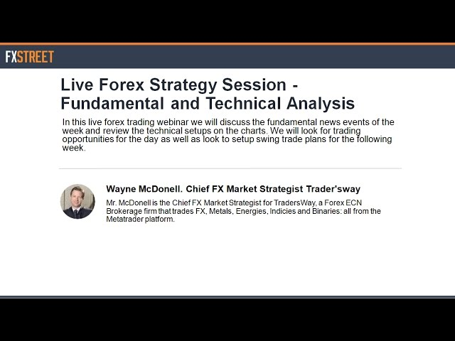Live Forex Strategy Session - Fundamental and Technical