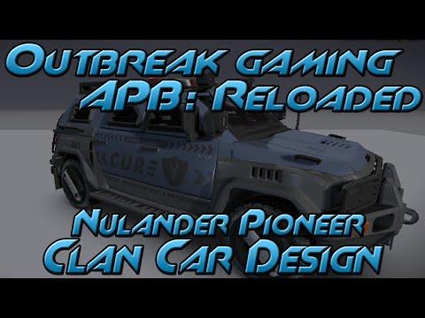 All Points Bulletin: Reloaded - Nulander Pioneer Clan Car Design