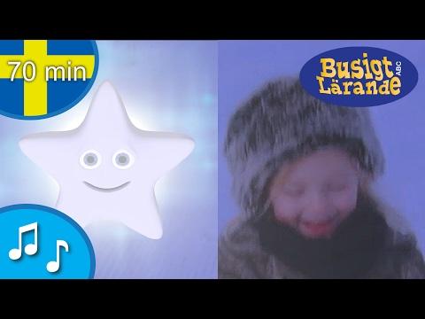 Blinka lilla stjärna där  Barnvisor från Busigt Lärande på svenska  70 min