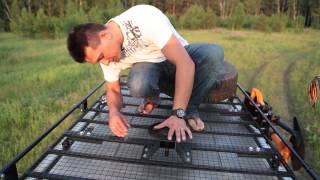 видео Багажник на УАЗ