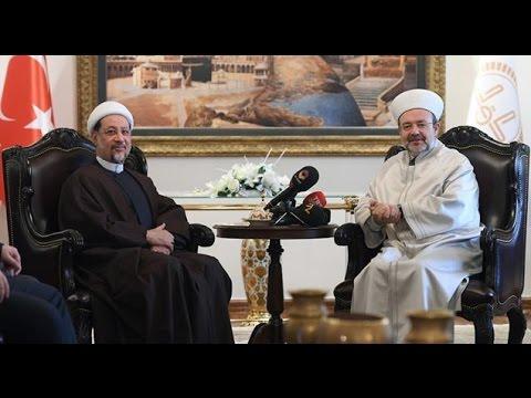 Irak Hac ve Umre Bakanı Atıyye, Diyanet İşleri Başkanı Görmez'i ziyaret etti