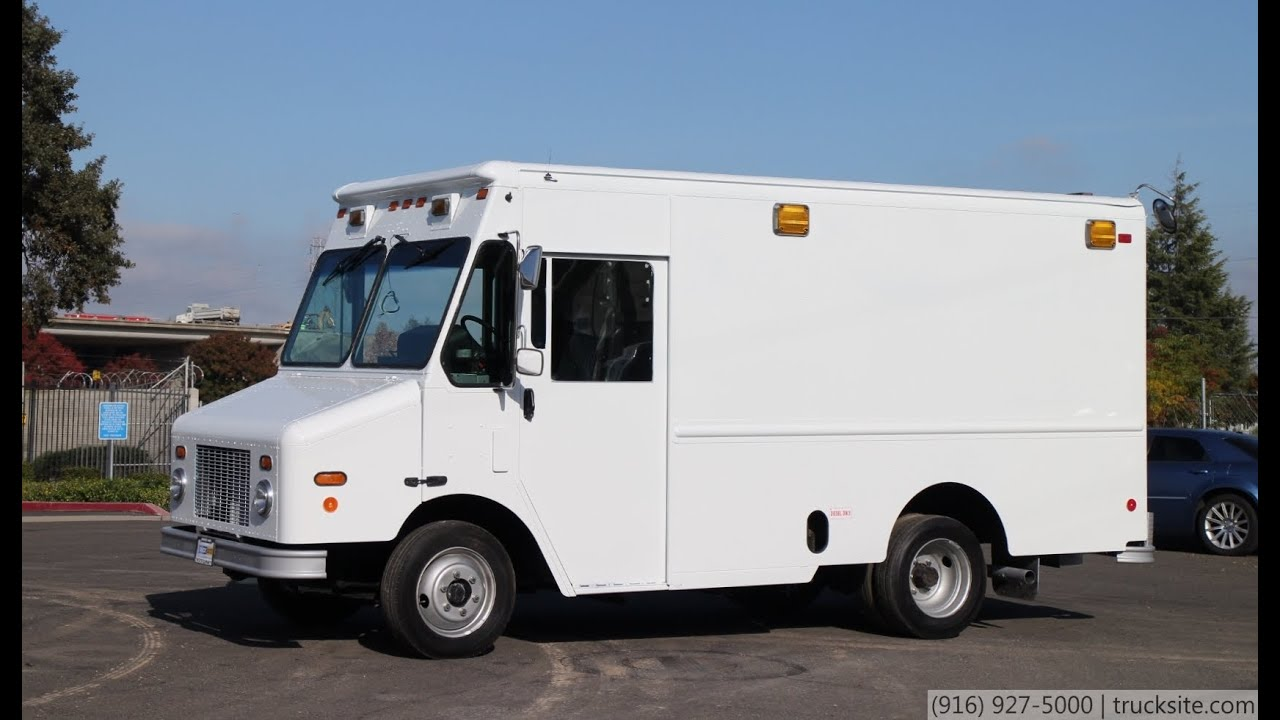 2006 Freightliner MT45 Morgan Olson 12\' Step Van for sale - YouTube