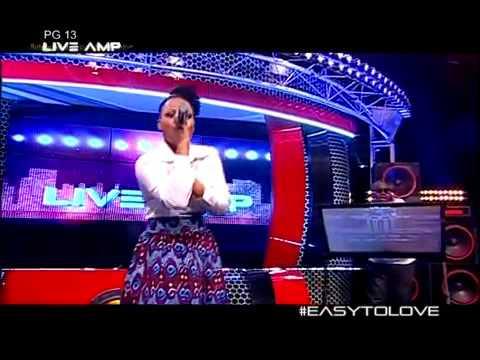 Bucie ft Heavy K - Easy to love  Live Amp Performance