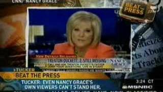 Tucker Carlson Nancy Grace Big Bitch EastCoastBob