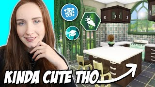 Each room is a DIFFERENT PACK Challenge! (The Sims 4)