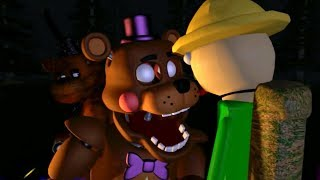 FNaF BALDI BASICS GOES CAMPING SFM ANIMATION