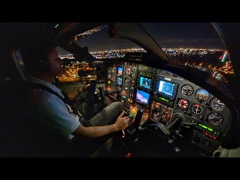 INTO THE NIGHT! - Single Pilot IFR Flight from YouTube · Duration:  31 minutes 16 seconds