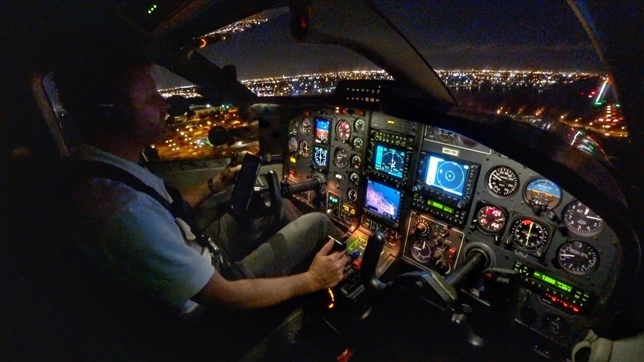 INTO THE NIGHT! - Single Pilot IFR Flight