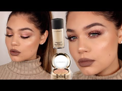 FULL FACE USING MAC COSMETICS | ONE BRAND Makeup Tutorial |