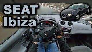 POV test drive   2008 SEAT Ibiza 1.4 16V 63 kW - countryside