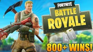 GRINDING TO THE TOP! - 800+ Wins - Level 95+ - Fortnite Battle Royale Gameplay - (PS4 PRO)