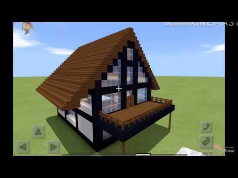 Строю дом в стиле Фахверк (В Майнкрафте Пе)