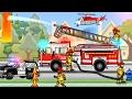 Fire Truck for Children   Cars & Trucks for Children : Fire Truck Cartoon   KIDS Videos