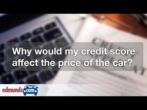 How Credit Score Affects Car Price | Car Financing