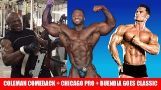 Chicago Pro Results + Coleman's Comeback + Jeremy Buendia goes Classic Physique