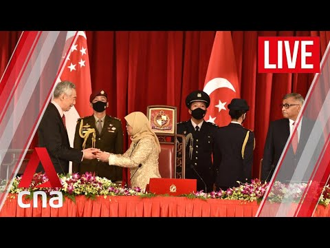 [LIVE HD] Singapore Cabinet swearing-in
