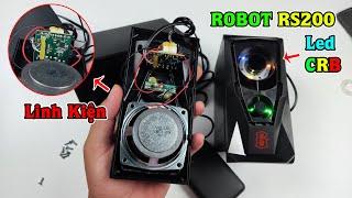 Bung Loa Vi Tính Gaming ROBOT RS200 GIÁ 129K - Khám Phá Linh Kiện LED RGB