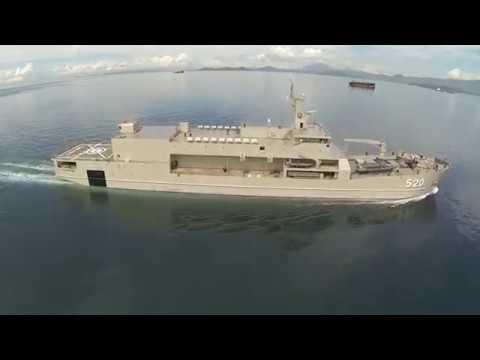KRI Teluk Bintuni 520 (LST Terbesar TNI AL)