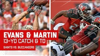Mike Evans' Snag Leads to Doug Martin's Huge TD Dive! | NFL Week 14 Highlights