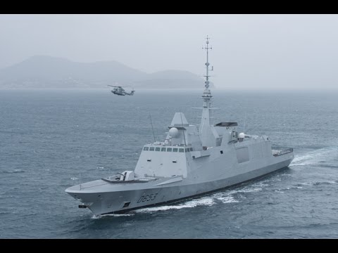 DCNS Delivers FREMM Frigate Languedoc to the French Navy