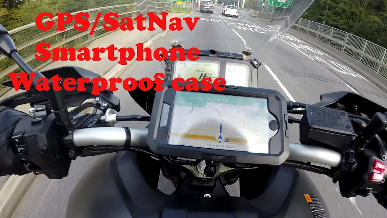Gps Satnav Iphone 6 Plus Handlebar Mount For Motorcycles