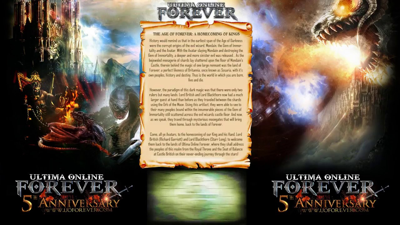 My life as the grandma guildmaster of Ultima Online Forever