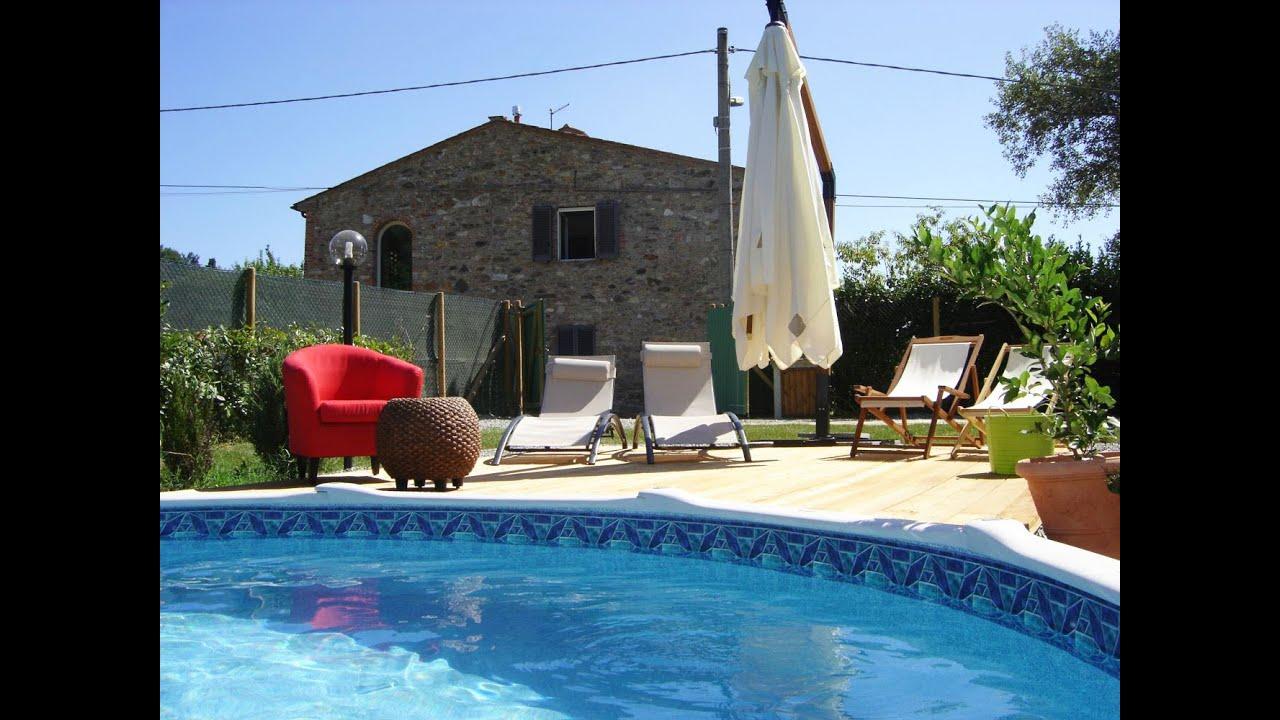Vakantiehuis met priv zwembad in toscane in san ginese for Zwembad prive