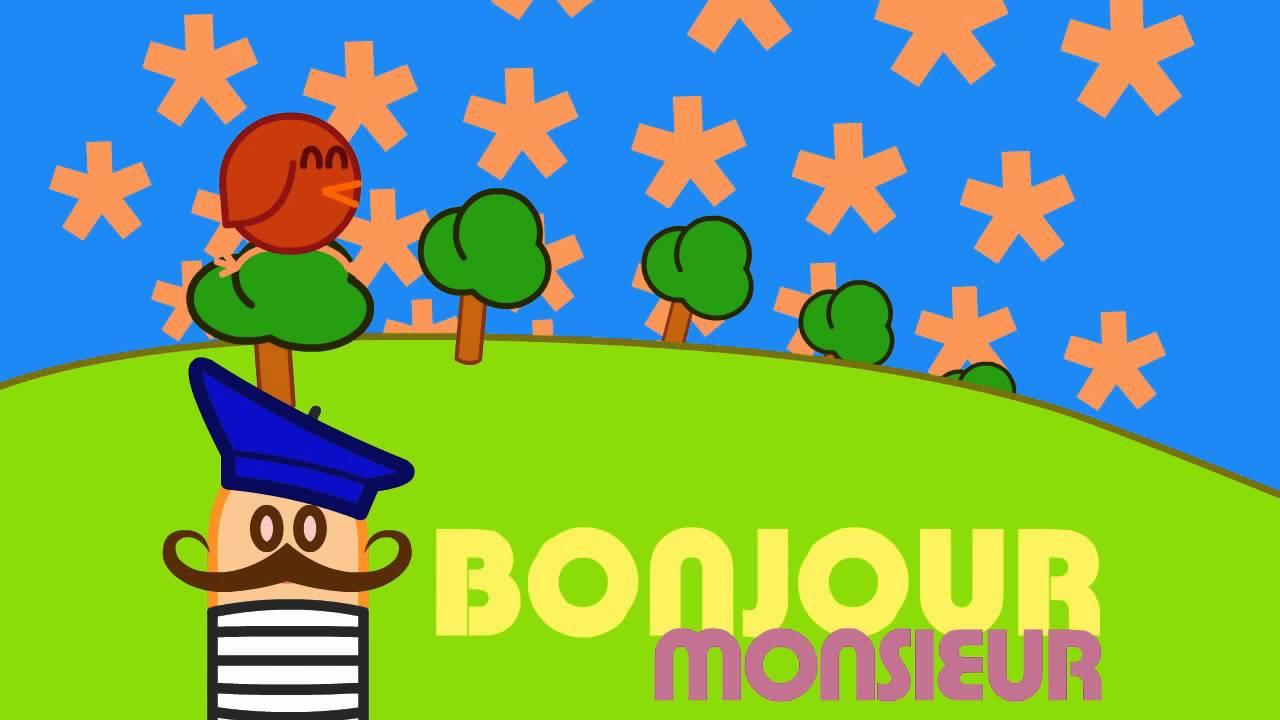 Bonjour Monsieur Animated Music Video Mrweebl