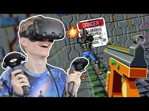 BEST RETRO ARCADE SHOOTER EVER! | Compound VR (HTC Vive Gameplay)
