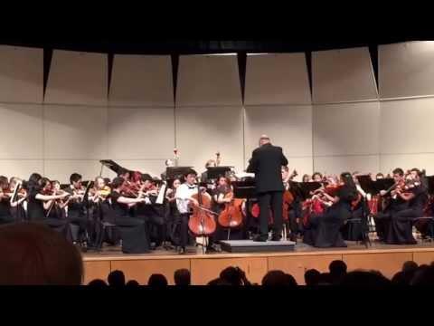 Concerto for ViolinCello OP. 104 Allegro - Dvorak (Jake Kwo