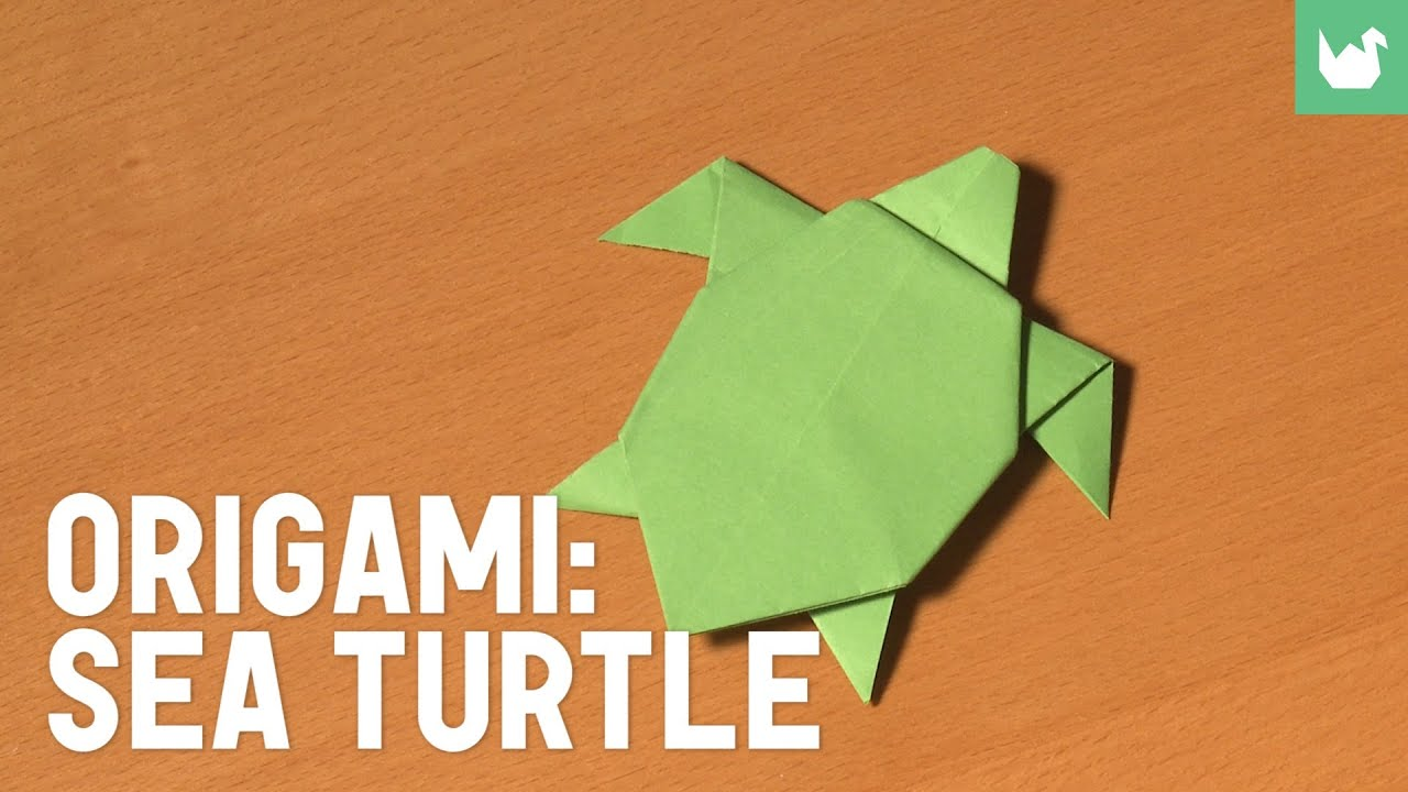 paper origami turtle diagram s 120 12 wiring sea youtube
