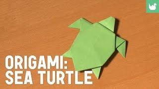 Origami: Sea Turtle