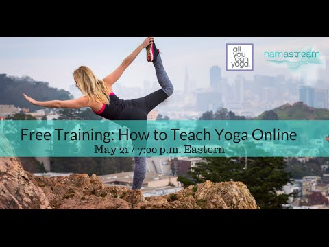 Free Training: How to Teach Yoga Online