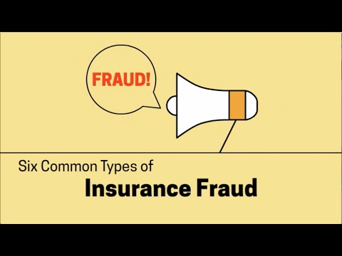 Six Common Types of Insurance Fraud