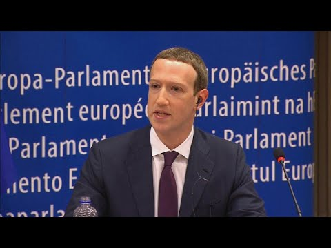 EU lawmakers question Facebook CEO Mark Zuckerberg