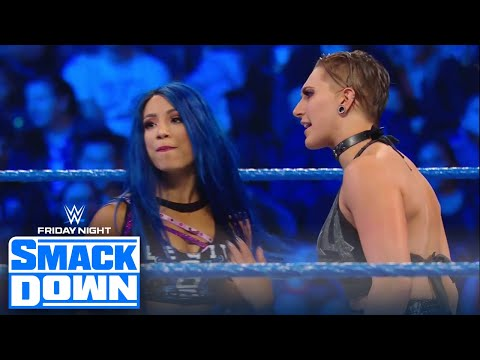 Team NXT takes on Team SmackDown in a 4-on-4 women's tag match | FRIDAY NIGHT SMACKDOWN