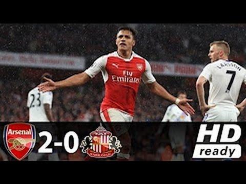Arsenal vs Sunderland 2-0 All Goals Full HD Highlights 17/05/2017