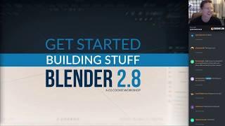 3D Modeling with Blender 2.8 - Get Started Building Stuff with Blender 2.8 Week 1