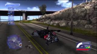 Crackdown: wheel-less buggy glitch