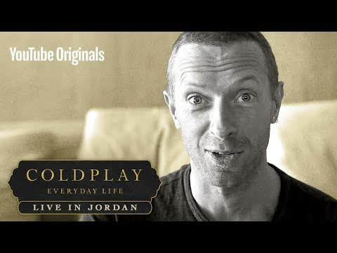 Hudson - Want to be part of Coldplays Jordon Everyday life Livestream? Here's how.