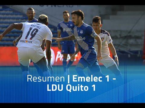 Emelec LDU Quito Goals And Highlights